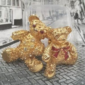 CUTE VTG Bear Brooches